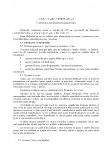 Comunicare persuasivă - Comunicare orală și scrisă - Pagina 2
