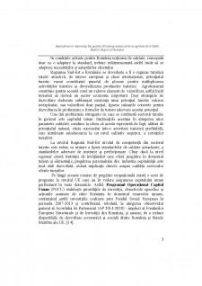 Implications în improving the quality of training human services agritourist în south eastern region of România - Pagina 3