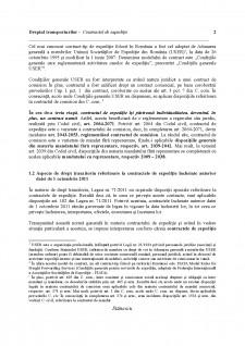 Dreptul transporturilor - Contractul de expediție - Pagina 2