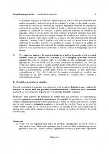 Dreptul transporturilor - Contractul de expediție - Pagina 4