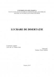 Integrarea monetară în Europa - Analiza studiului și perspective - Pagina 1