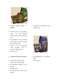 Export strategy for Fortuna Coffee - Pagina 4
