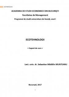 Ecotehnologii - Pagina 1