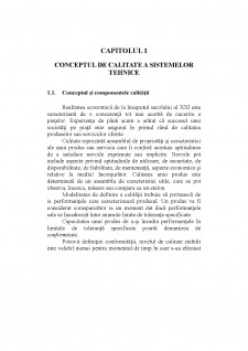 Ingineria calitatii - Pagina 1