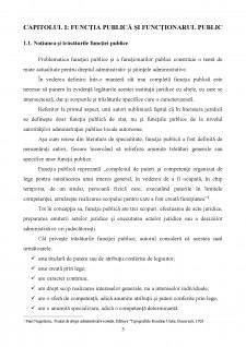 Functia si functionarul public - Pagina 3