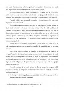 Functia si functionarul public - Pagina 5