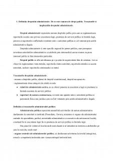 Drept administrativ - Pagina 1