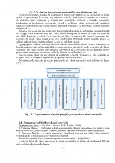 Banca comerciala - definire, clasificare, tipuri de operatiuni, structura organizatorica - Pagina 4