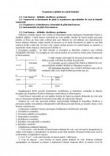 Organizarea plăților în cadrul băncilor - Pagina 1
