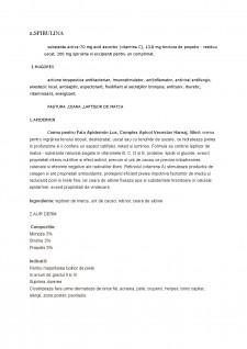 Medicamente care conțin miere de albine - Pagina 3