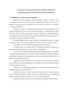 Organizarea contabilității și analiza stocurilor la o entitate de comerț exterior - Pagina 4