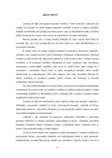 Personajul basmului romanesc, valori instructiv- educative ale textului - Pagina 4