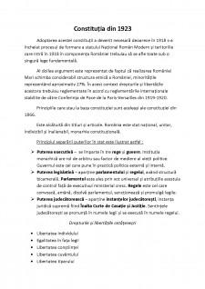 Constituțiile romanești - Pagina 1