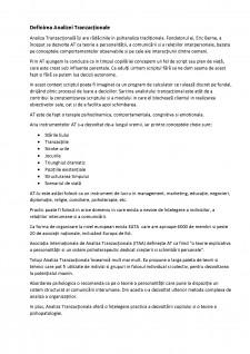 Comunicare și relații publice în afaceri - Analiza tranzacțională - Pagina 2