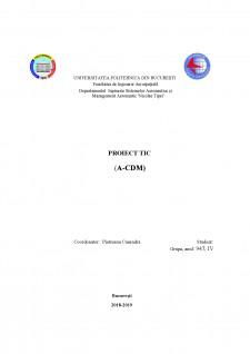 Proiect TIC - A-CDM - Pagina 1