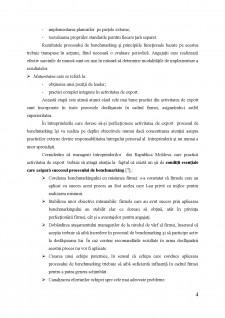 Perfecționarea activității de export a întreprinderilor din Republica Moldova prin prisma procesului de benchmarking - Pagina 4