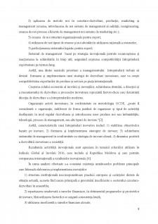 Perfecționarea activității de export a întreprinderilor din Republica Moldova prin prisma procesului inovațional - Pagina 5