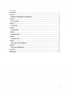 Sociolinguistics - bilingualism and bilinguals - Pagina 1