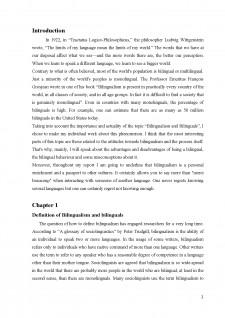 Sociolinguistics - bilingualism and bilinguals - Pagina 2
