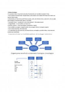 Ecologie - noțiuni de bază - Pagina 1