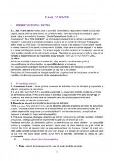 Plan de afaceri - Pagina 2