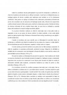 Soluționarea disputelor în managementul conflictelor din spațiul social - Pagina 5