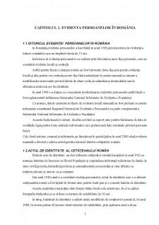 Serviciile publice comunitare de evidență a persoanelor - Pagina 1