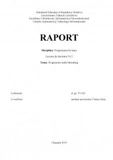 Programare multi-threading - Pagina 1