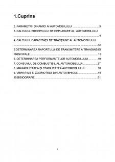 Dinamica autovehiculelor - Pagina 1