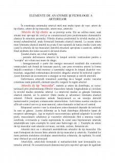 Elemente de anatomie și fiziologie a arterelor - Pagina 1