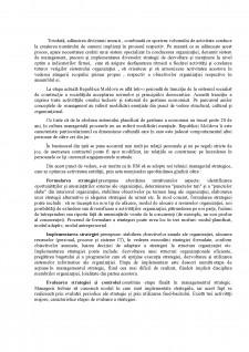 Managementului strategic - Pagina 2