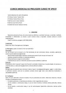 Clinica medicală și prelegeri clinice pe specii - Pagina 2