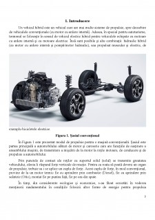Dezvoltarea unui sistem hibrid pentru autovehiculele cu motor termic - Pagina 2