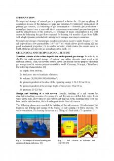 Some aspects regarding the underground storage of natural gas în saline deposits - Pagina 2