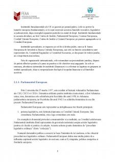 Instituții ale Uniunii Europene - atribuții financiare și modul de înfăptuire a acestora - Pagina 5