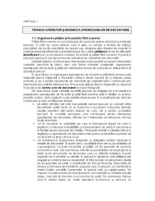 Tehnica Operațiunilor Bancare - Pagina 1
