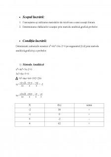 Izolarea rădăcinilor ecuațiilor algebrice și transcendente - Pagina 2