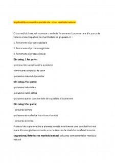 Economia mediului - Pagina 1