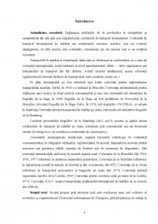 Particularitățile contractului comercial de transport internațional - Pagina 4