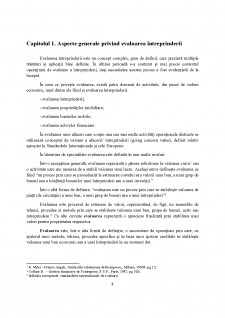 Necesitatea și continutul evaluării intreprindeii - Pagina 3