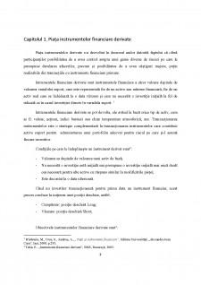 Reglementarea și supravegherea piețelor instrumentelor financiare derivate - Abordare comparativă - Pagina 3
