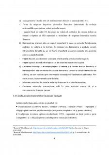 Reglementarea și supravegherea piețelor instrumentelor financiare derivate - Abordare comparativă - Pagina 4