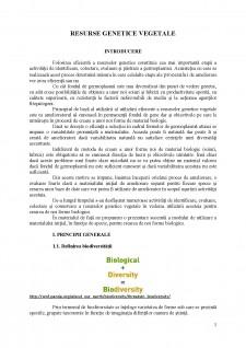 Resurse genetice vegetale - Pagina 1