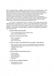 Prezentarea formelor de organizare a lecției de educație fizică și sport - Pagina 2