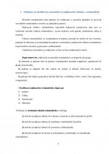 Tezele generale ale tehnicii criminalistice - Pagina 3