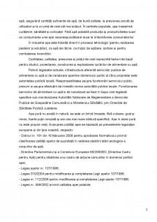 Directiva Cadru a apei din Uniunea Europenă și legislația privind sistemele de alimentare cu apă și calitatea apei din România - Pagina 3