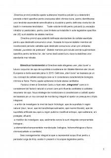 Directiva Cadru a apei din Uniunea Europenă și legislația privind sistemele de alimentare cu apă și calitatea apei din România - Pagina 5