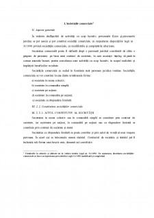 Societățile comerciale - Pagina 1