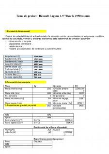 Dinamica Autovehiculelor - Renault laguna 1.9 - Pagina 2