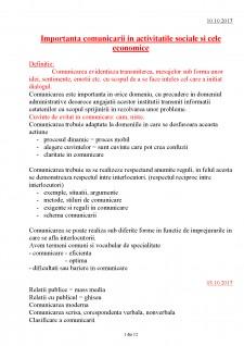Comunicare - Obiective si functii - Pagina 1